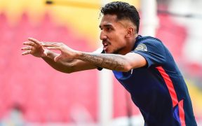 Jesús Ferreira celebra el gol del triunfo para Estados Unidos. Foto: Mexsport