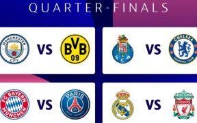 Las series de Cuartos de Final de la Champions serán muy atractivas. Foto: @UEFA