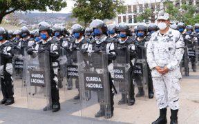 Despliegan a elementos de la Guardia Nacional en la frontera sur para prevenir migración irregular