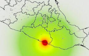 Autoridades ajustan a 5.7 la magnitud del sismo en Guerrero