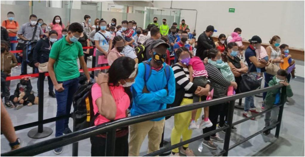 inm-detiene-95-migrantes-intentaron-cruzar-mexico-turistas