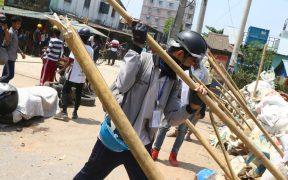 Médicos de Birmania se unen a protestas contra golpe de Estado; la represión de marchas ha dejado 247 muertos