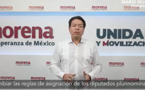 Morena impugnará medidas del INE de sobrerrepresentación en Diputados