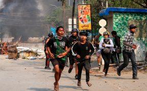 Reportan 15 menores muertos por disparos de las fuerzas de seguridad en Birmania