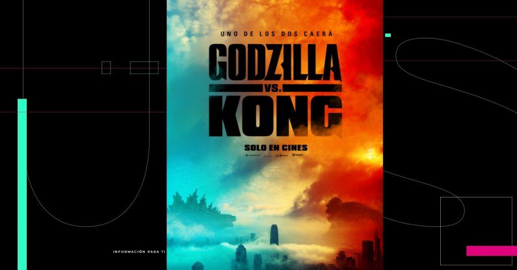 ¡Listos para la batalla! 'Godzilla vs Kong' ya está en los cines de México