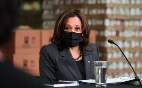 Kamala Harris llama al Congreso a aprobar la ley de control de armas