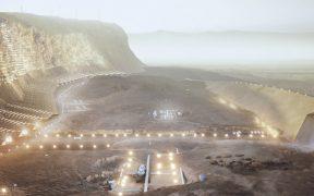 Ya diseñaron un proyecto para una ciudad colmena sustentable en Marte; te contamos todo