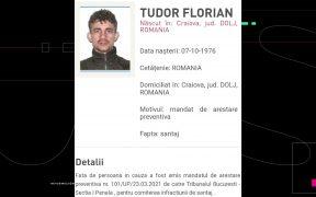 Policía rumana incluye a Florian Tudor, presunto líder de la mafia rumana en Cancún, en su lista de fugitivos