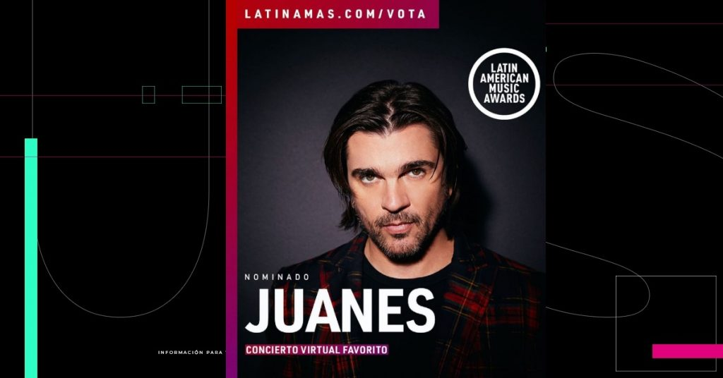 Juanes, Ricky Martin y Pitbull actuarán en vivo en los Latin AMAs