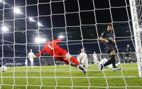 Havertz marca el segundo gol de Alemania, al minuto 7. Foto: Reuters