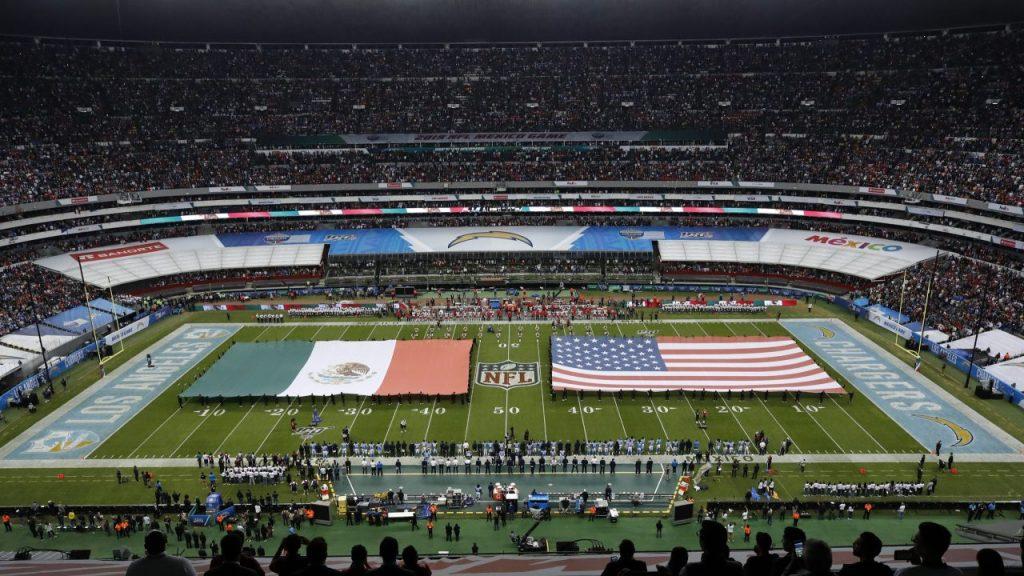 El Estadio Azteca recibió a Chargers y Chiefs en 2019. Foto: EFE
