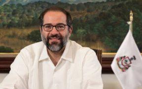 José Ignacio Peralta, gobernador de Colima vuelve a enfermar de la Covid-19