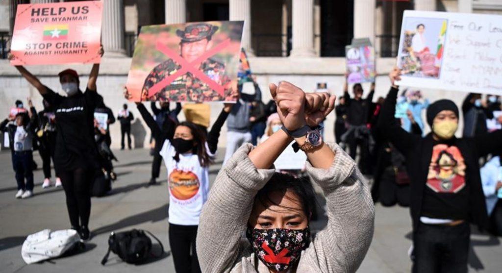 """Matanza de niños en Birmania """"agrava la ilegitimidad del golpe"""": ONU"""