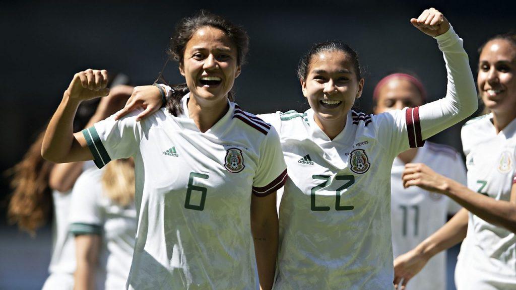 La Selección Femenil de México enfrentará a España en abril. Foto: @MiseleccionFem