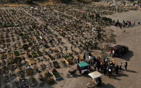 México reporta 2 millones 224 mil casos y más de 201 mil muertes por Covid-19