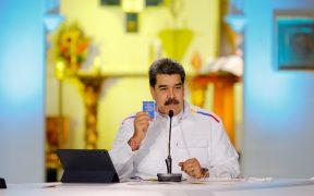 """Maduro acusa a sectores de poder de EU de intentar """"reventar el diálogo"""" con la oposición de Venezuela"""