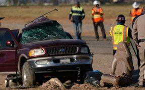 California investiga accidente vial en el que murieron 13 migrantes en marzo