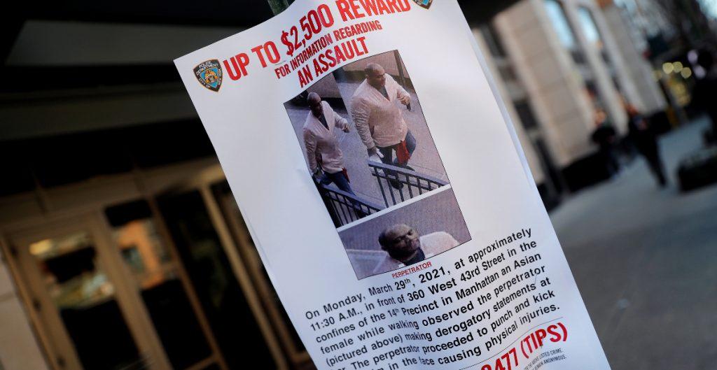 Arrestan al sospechoso de atacar a mujer asiáticoamericana en NY