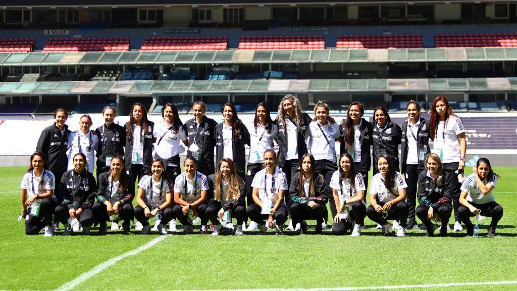 La Selección Femenil Mexicana alista su gira europea en abril. Foto: @MiseleccionFem