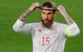 Ramos se lesionó tras tener actividad con España. Foto: Reuters