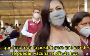 Exhiben uso electoral en aplicación de vacunas contra la Covid-19