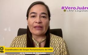 Coordinadora del PRD pide al presidente respetar resolución del TEPJF