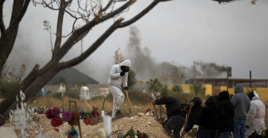 Aumenta a 203 mil 854 la cifra de muertes por Covid-19 en México