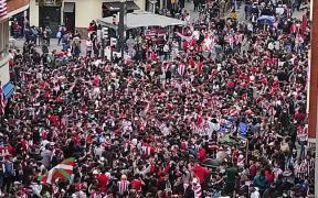 La reunión de jóvenes se salió de control en Bilbao. Foto: eldiario.es