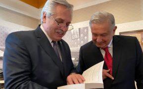 AMLO le desea una pronta recuperación a Alberto Fernández, presidente de Argentina