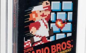 Cartucho de Super Mario Bros. sin abrir se subasta por 660 mil dólares