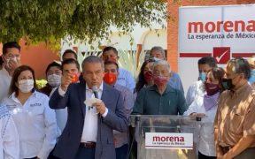 Raúl Morón cuestiona plazo para su sustitución; TEPJF sin resolver, afirma