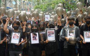 Junta militar de Birmania acusa a celebridades de promover protestas