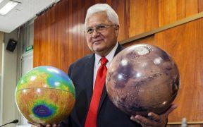 Una montaña de Marte llevará el nombre del científico mexicano Rafael Navarro