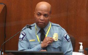 """Derek Chauvin violó """"absolutamente"""" las reglas de la policía durante arresto a George Floyd, dice Medaria Arradondo"""