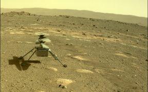 Ingenuity, el helicóptero de la NASA, ya está en la superficie de Marte