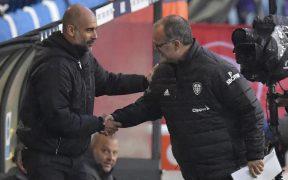 Bielsa ya tuvo oportunidad de enfrentarse con Guardiola en la Premier League. Foto: AP