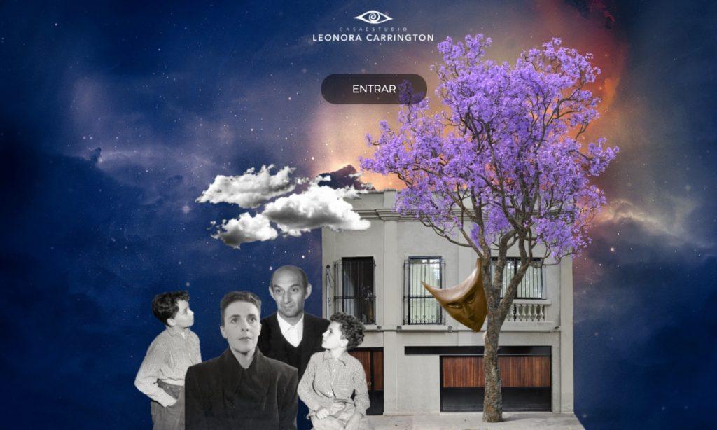 Abren el Museo Casa Estudio de Leonora Carrington en formato virtual