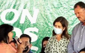 Se reúne candidato en Sonora con líder de colectivo sobre desaparecidos