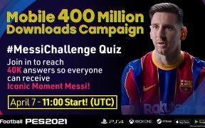 La compañía Konami lanzó una dinámica relacionada con Lionel Messi. Foto: @officialpes