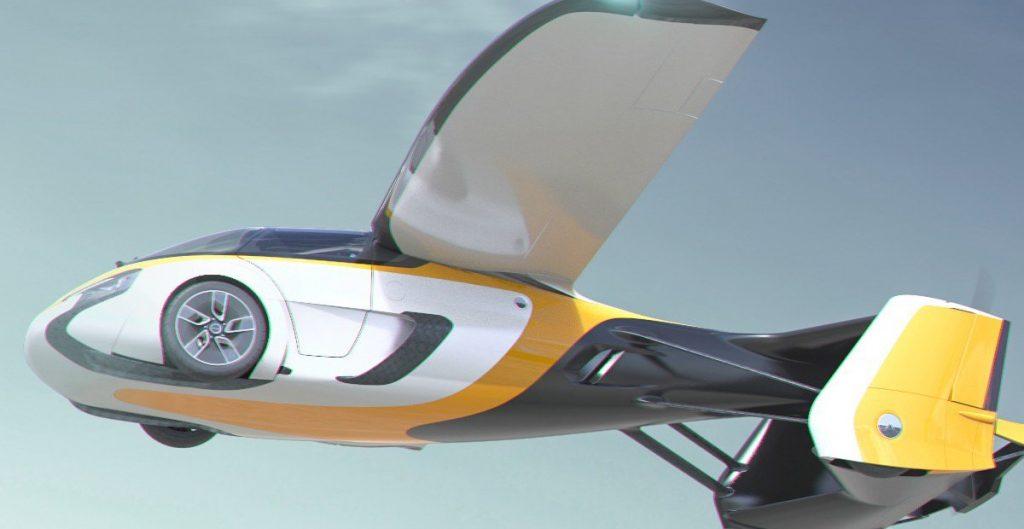 Un auto volador de lujo saldrá a la venta en 2023