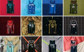 La WNBA presentó los 12 uniformes para su temporada 2021. Foto: @WNBA