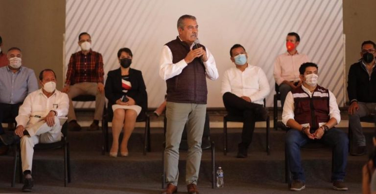 Morena no nombrará a otro candidato en Michoacán, advierte Raúl Morón