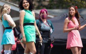 Filtran imágenes del rodaje de la serie de 'Las chicas superpoderosas' en live action
