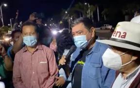 Félix Salgado inicia caravana rumbo al INE, tras el fallo del Tribunal