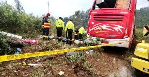 Accidente de autobús en Ecuador deja ocho muertos y 20 heridos