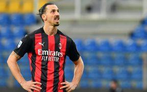 Zlatan fue expulsado ante Parma por reclamar. Foto: Reuters