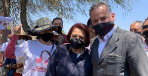 Candidata de Morena en Querétaro es acompañada por Santiago Nieto