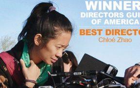 Chloé Zhao gana con 'Nomadland' en los premios del Sindicato de Directores