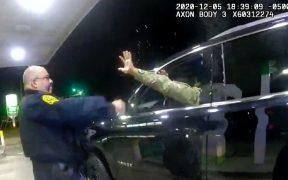 Despiden a oficial acusado de emplear la fuerza en detención de un militar afrolatino