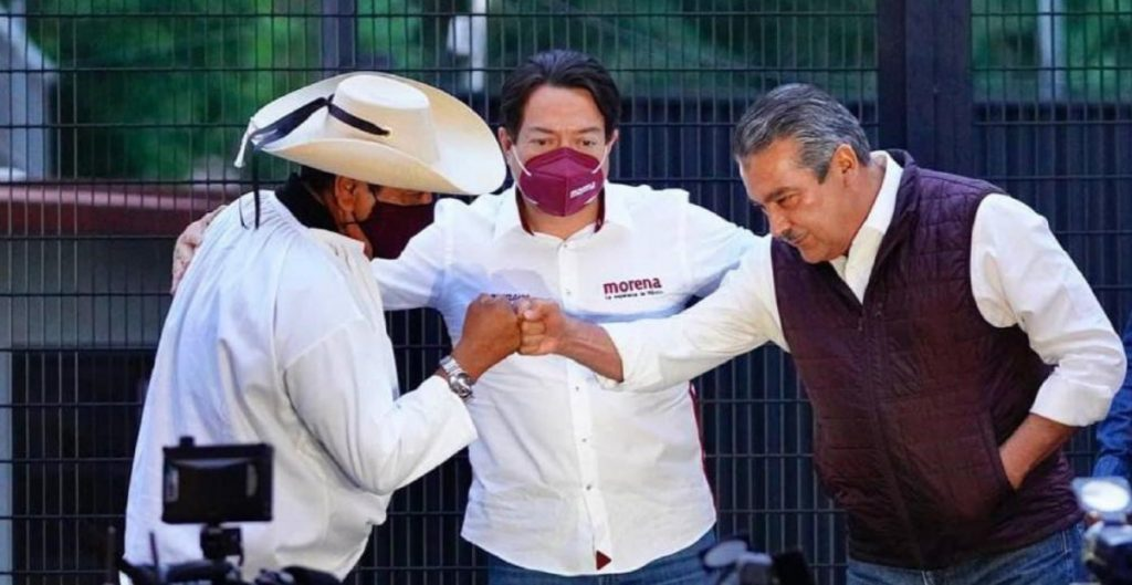 Mario Delgado niega amenazas a los consejeros electorales del INE